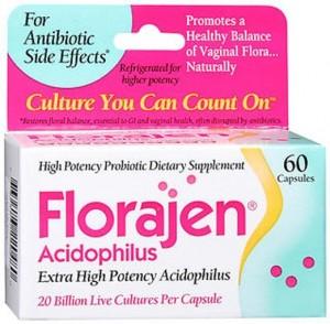 Florajen Acidophilus Probiotics