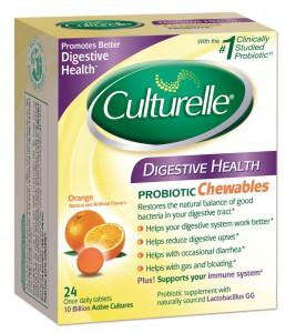 Culturelle Digestive Health Chewable Tablet