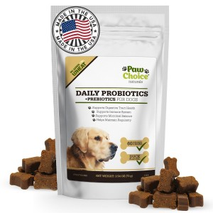 Paw Choice - Probiotics for Dogs with Prebiotics