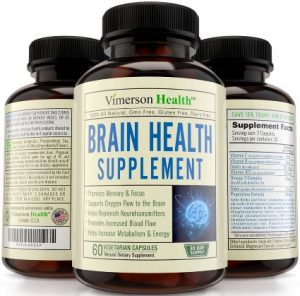 Nootropics Brain Function Booster