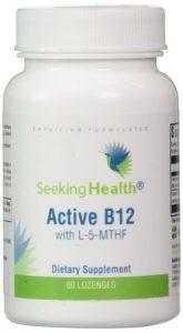 Active B12 Lozenge With L-5-MTHF