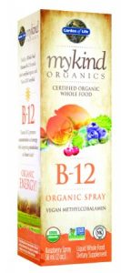 Garden of Life Mykind Organics Organic B12-Spray