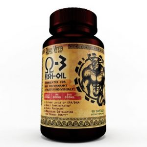 Deus-Vita Elite Triple Strength Omega-3 Fish Oil