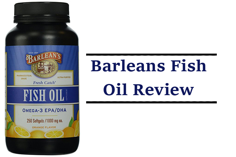 barleans fish oil review pronutrics