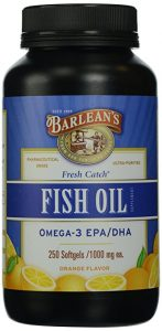 Barlean's Organic Oils Fresh Catch Fish Oil