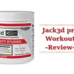 Jacked pre Workout Review