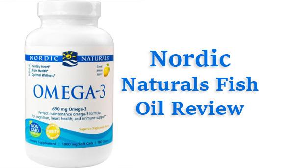 Nordic naturals fish oil review pronutrics for Fish oil ratings