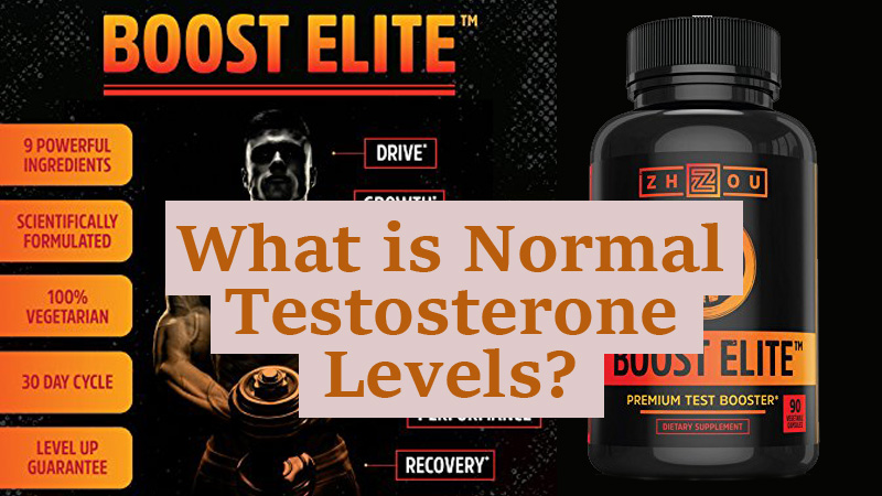 What is Normal Testosterone Levels