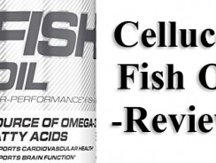 Cellucor Fish Oil Review