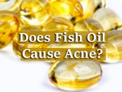 Does Fish Oil Cause Acne?