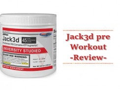 Jack3d Pre Workout Review