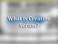 What is Creatine Serum?